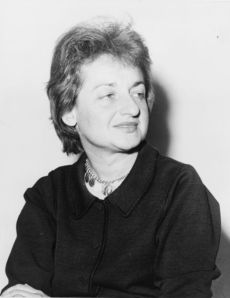 Betty Friedan in 1960. Source: Wikipedia Commons