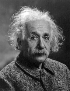 Albert Einstein, 1947 (Source: Wikipedia Commons)