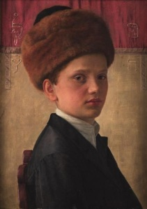 Isidor Kaufman (1853-1921), Portrait of a Yeshiva Boy. Source: Wikimedia Commons.