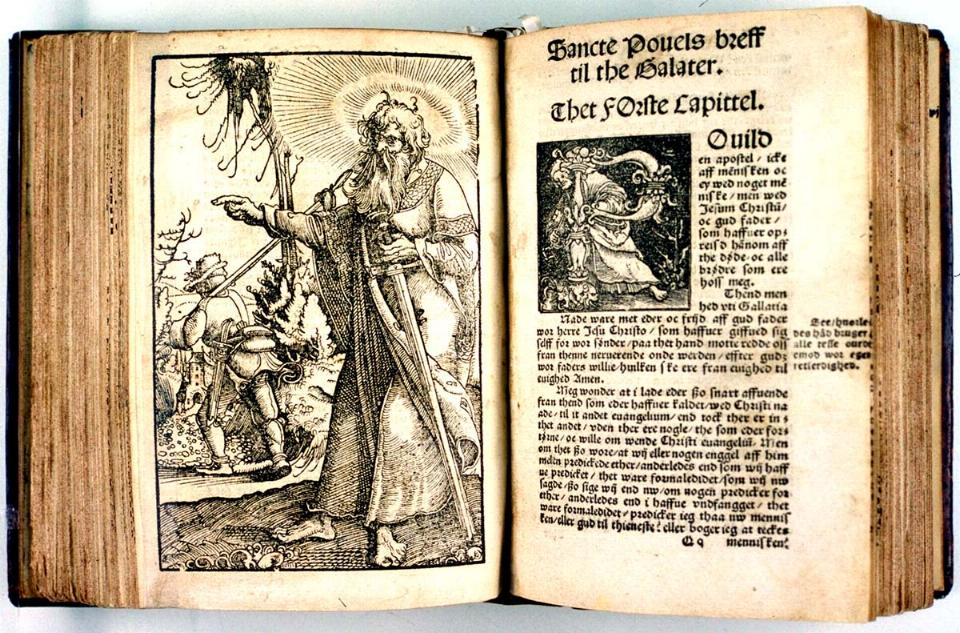 Illustration from Melchior Lotter's Bible (Sweden, 1524). Source: Wikimedia Commons.
