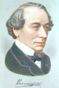 Benjamin Disraeli. Source: Wikimedia Commons.