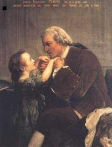 Pereire with a student. Source: Wikimedia Commons