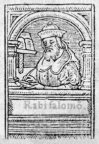 Rashi (Woodcut, France 1539)