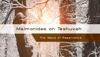 Maimonides on teshuvah now available free download 50 off print maimonides on teshuvah chapter 4 fandeluxe Images